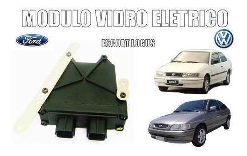 Modulo Vidro Elétrico Dianteiro Lado Esquerdo Escort Logus -