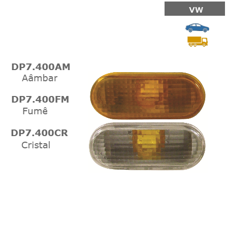 Lanterna Lateral - Lanterna Lateral - vw - Polo Classic T