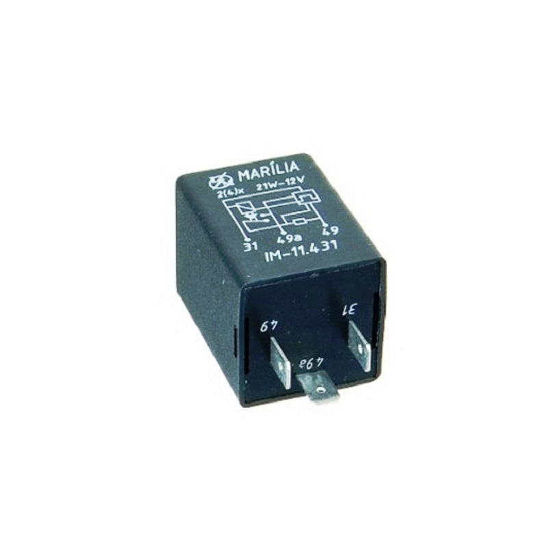 Rele de Pisca 3 Term 21w 12v - Rele de Pisca - Pc - vw -