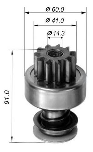 Impulsor P/ Valmet Hr492at/688h/ht/692ht 11d Bosch - Impulso